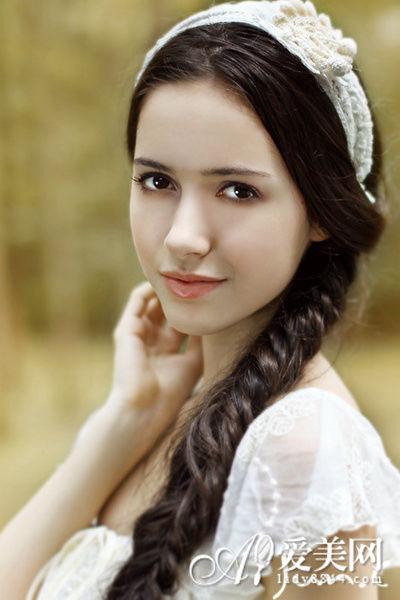 森林系新娘发型