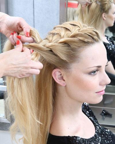 仙气的中长发编发发型详细步骤