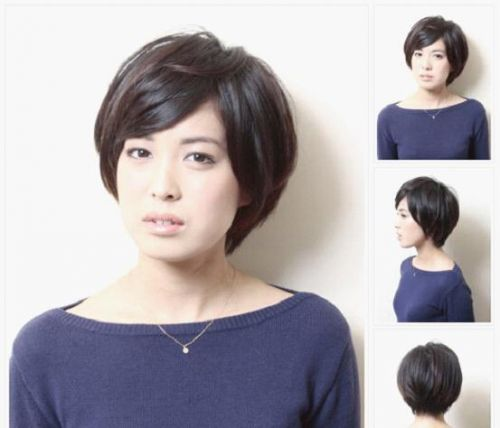 014最全女生短发发型