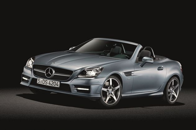 2012 mercedes benz slk roadster 01 副本高清图片