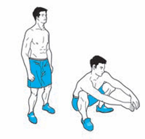深蹲起正確做法圖解馬步的正確蹲法圖解 深蹲怎麼做 ...