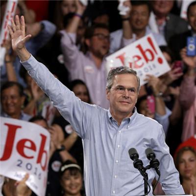 布什家族3.0 VS 克林顿家族2.0 开打!