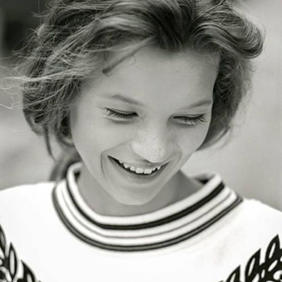 你从来没见过的Kate Moss