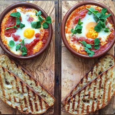 从清晨开始给对方一份浪漫的双人餐吧!