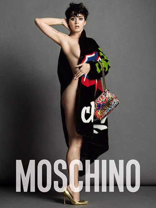 Katy Perry联手Moschino 2015秋季大片