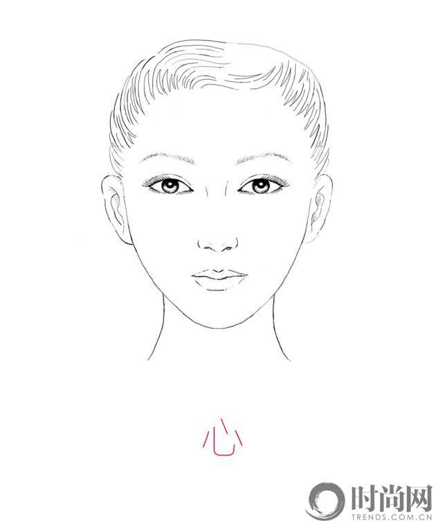 自拍测脸型_自拍脸型 你要哪一款(4)