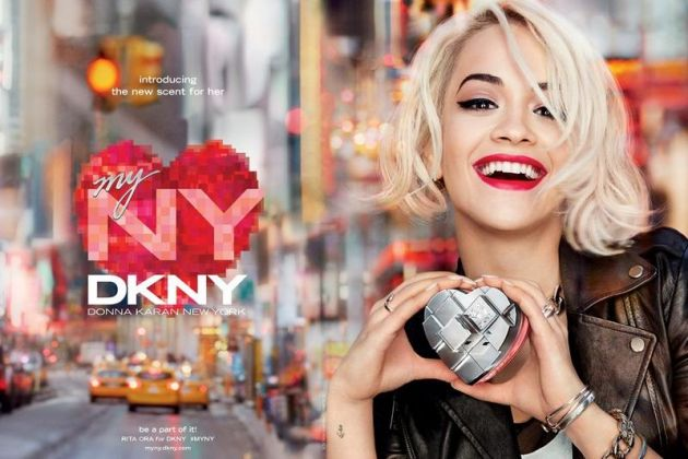 Rita Ora代言DKNY myny香水广告