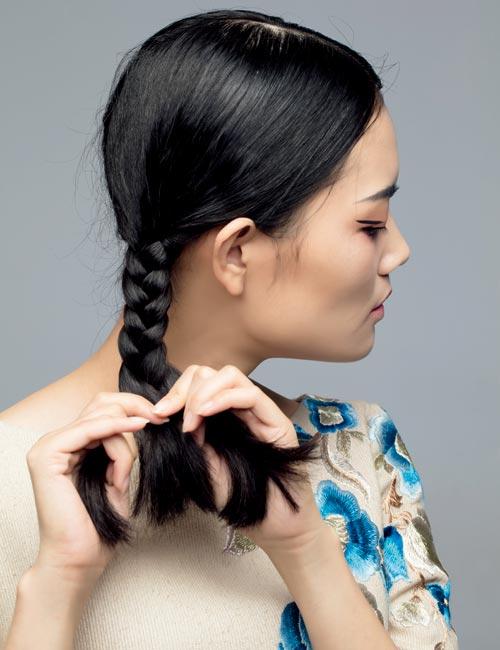 灵动有韵味的中式新娘发型(6)