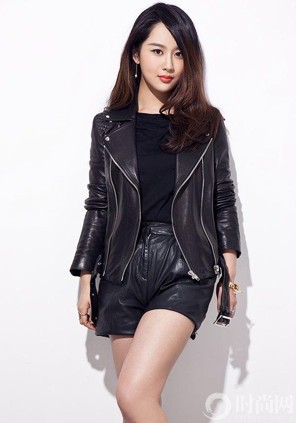 杨紫皮衣2