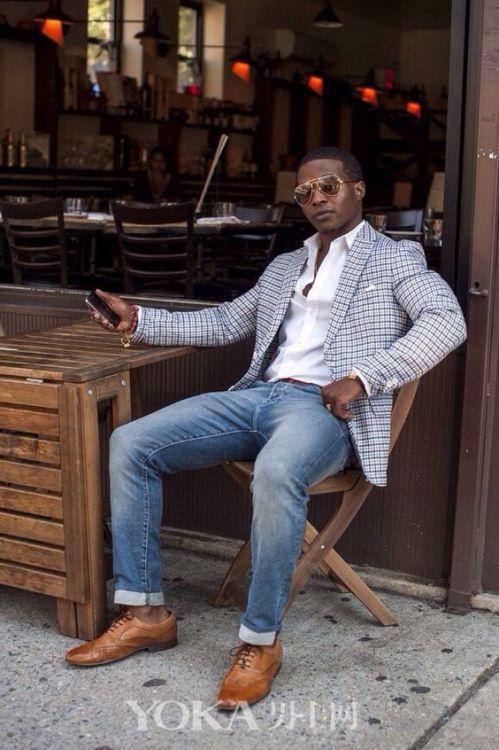 四月搭配模板之牛仔裤  时髦好穿人人可选
