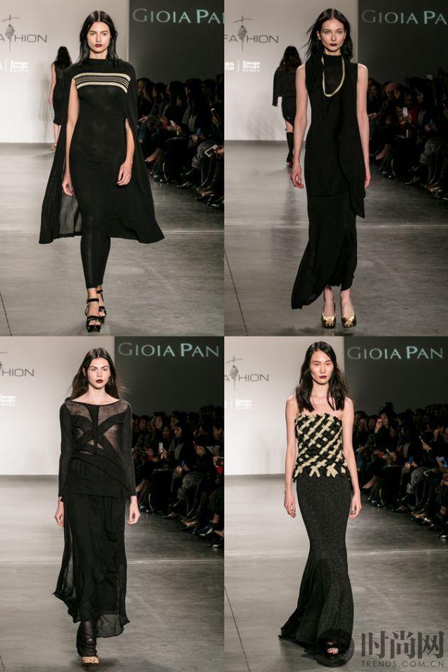 潘怡良纽约时装周发布系列