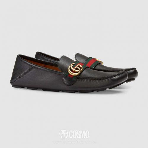 男士踩脚鞋来自Gucci 售价4500元 可从gucci.com购买