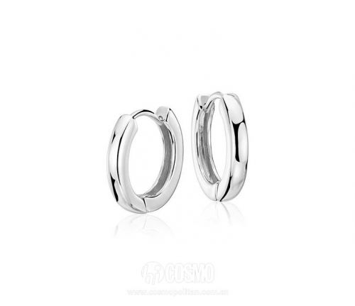 Hinged Hoop Earrings 售价35美元 可在bluenile网站购买