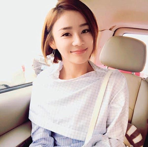 俏丽的短发也是袁姗姗区别于其它女明星的特别之处.图片