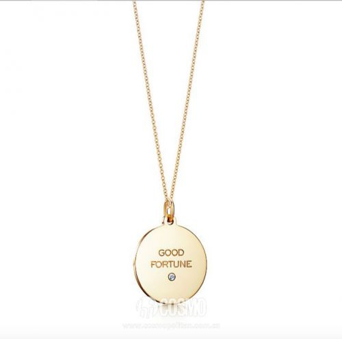 项链来自Tiffany 售价2400元 可从品牌官网购买